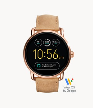 REFURBISHED Gen 2 Smartwatch - Wander Light Brown Leather