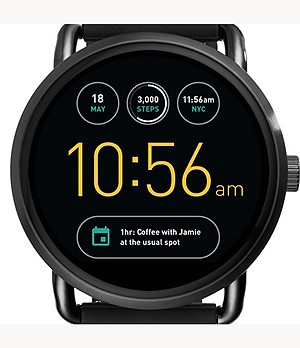 REFURBISHED Gen 2 Smartwatch - Wander Black Silicone