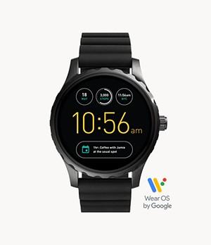 REFURBISHED Gen 2 Smartwatch - Marshal Black Silicone
