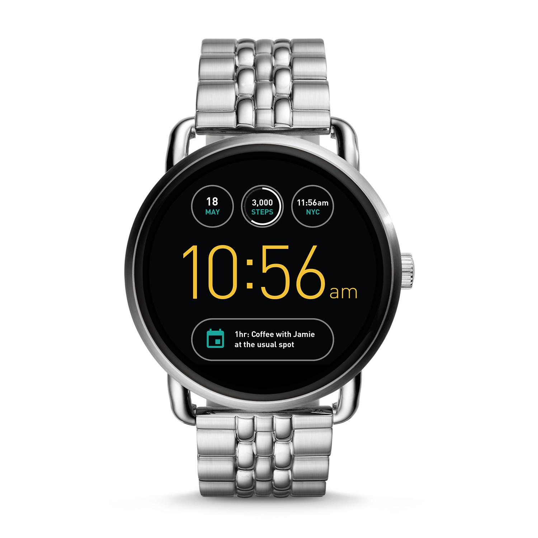 Refurbished Gen 2 Smartwatch Wander Stainless Steel Fossil Huawei Smart Watch Black
