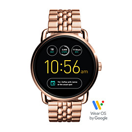 Gen 2 Smartwatch - Q Wander Rose Gold-Tone Stainless