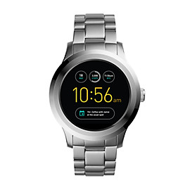 Q Founder 2.0 Touchscreen Stainless Steel Smartwatch