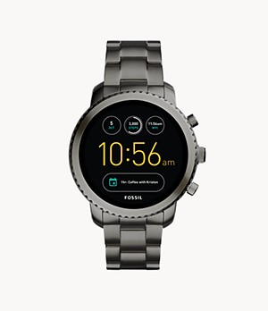 Gen 3 Smartwatch Explorist Smoke Stainless Steel
