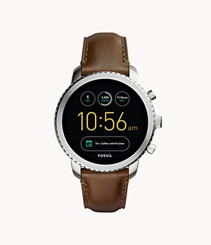 Gen 3 Smartwatch Explorist Brown Leather