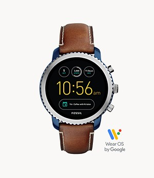 Gen 3 Smartwatch Explorist Luggage Leather