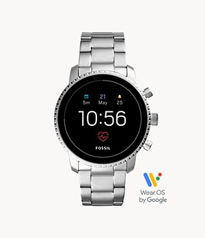 Gen 4 Smartwatch Explorist HR Stainless Steel
