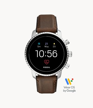 Gen 4 Smartwatch Explorist HR Brown Leather