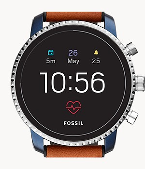Gen 4 Smartwatch Explorist HR Tan Leather