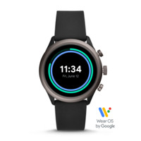 Fossil Sport Smartwatch with Snapdragon Wear 3100 platform and Wear OS by Google