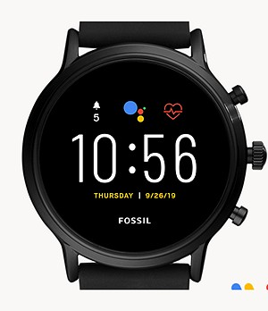 Gen 5 Smartwatch The Carlyle HR Black Silicone