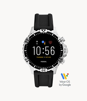 REFURBISHED Gen 5 Smartwatch Garrett HR Black Silicone