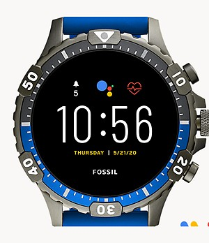REFURBISHED Gen 5 Smartwatch Garrett HR Blue Silicone