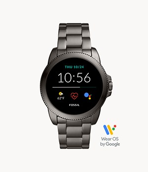 Gen 5E Smartwatch Smoke Stainless Steel