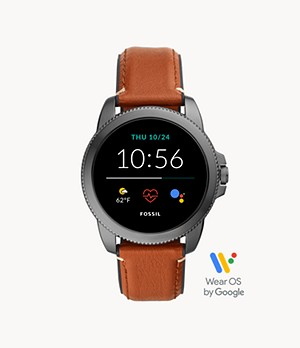 Gen 5E Smartwatch Brown Leather