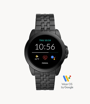 Gen 5E Smartwatch Black Stainless Steel