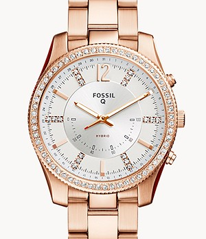 Hybrid Smartwatch Scarlette Rose-Gold-Tone Stainless Steel