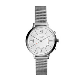 Hybrid Smartwatch – Jacqueline Stainless Steel