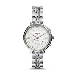 d9a68b37c Hybrid Smartwatch - Jacqueline Stainless Steel
