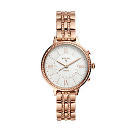 Hybrid Smartwatch – Jacqueline Rose-Gold-Tone Stainless Steel