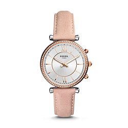 f5441afb565f6 Women's Leather Watches: Shop Bands & Leather Watches for Women - Fossil