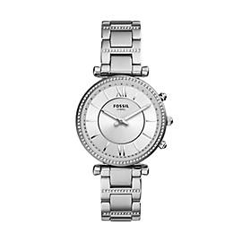 Hybrid Smartwatch - Carlie Stainless Steel