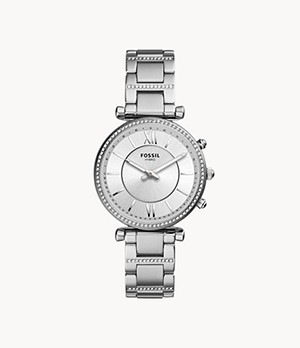 Hybrid Smartwatch Carlie Stainless Steel