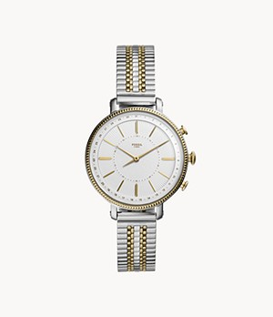 Hybrid Smartwatch Cameron Two-Tone Gold and Silver Stainless Steel