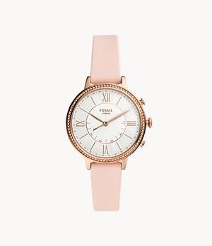 REFURBISHED Hybrid Smartwatch Jacqueline Blush Silicone