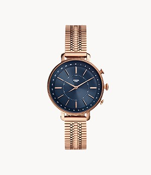 Hybrid Smartwatch Cameron Rose Gold-Tone Stainless Steel