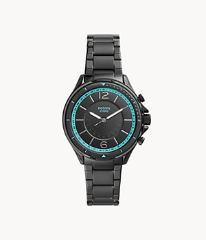 Hybrid Smartwatch Sadie Black Stainless Steel