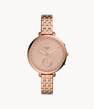 Hybrid Smartwatch Monroe Rose Gold-Tone Stainless Steel
