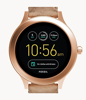 Smartwatch Gen 3 Venture in pelle color sabbia
