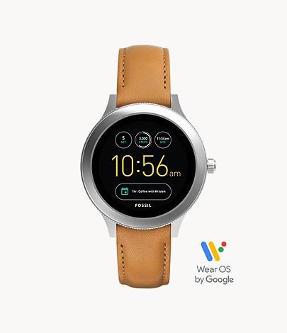 Fossil REFURBISHED Gen 3 Smartwatch Venture Luggage Leather