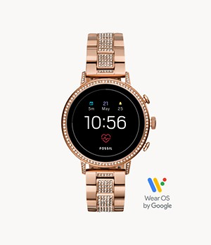 Gen 4 Smartwatch Venture HR Rose-Gold-Tone Stainless Steel