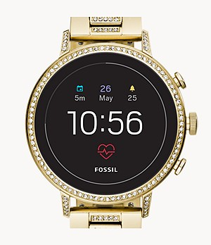 Gen 4 Smartwatch Venture HR Gold-Tone Stainless Steel