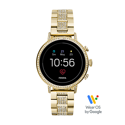 Gen 4 Smartwatch - Venture HR Gold-Tone Stainless Steel
