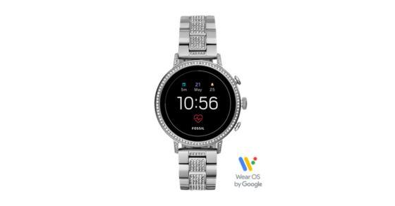ce322d7a566 Gen 4 Smartwatch - Venture HR Stainless Steel - Fossil