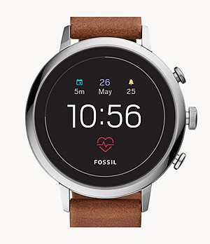 Gen 4 Smartwatch Venture HR Brown Leather