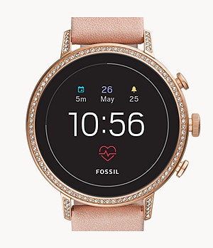REFURBISHED Gen 4 Smartwatch Venture HR Blush Leather