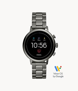 Gen 4 Smartwatch Venture HR Smoke Stainless Steel
