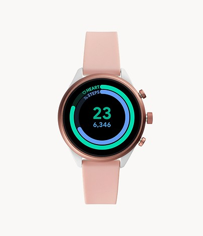 Fossil Sport Smartwatch Blush Silicone - FTW6022 - Fossil