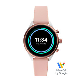 Fossil Sport Smartwatch - Blush Silicone