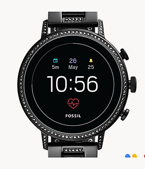 Gen 4 Smartwatch Venture HR Black Stainless Steel