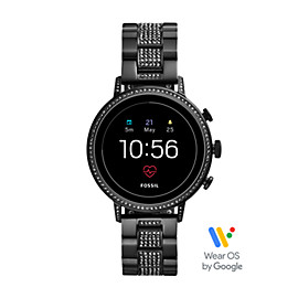 Gen 4 Smartwatch – Venture HR Black Stainless Steel