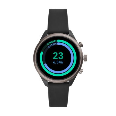 Fossil Sport Smartwatch Black Silicone - FTW6024 - Fossil