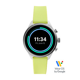 Fossil Sport Smartwatch - Neon Silicone