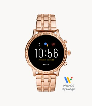 REFURBISHED Gen 5 Smartwatch Julianna HR Rose Gold-Tone Stainless Steel