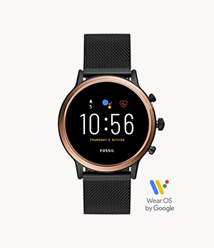 REFURBISHED Gen 5 Smartwatch - Julianna HR Black Stainless Steel