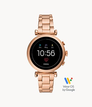 Gen 4 Smartwatch Sloan HR Rose Gold-Tone Stainless Steel