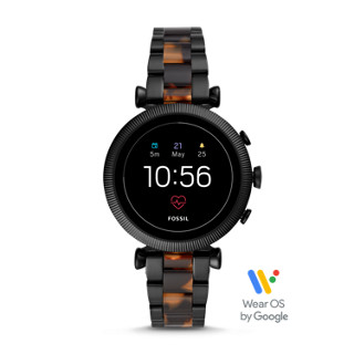 Gen 4 Smartwatch - Explorist HR Black Silicone - Fossil